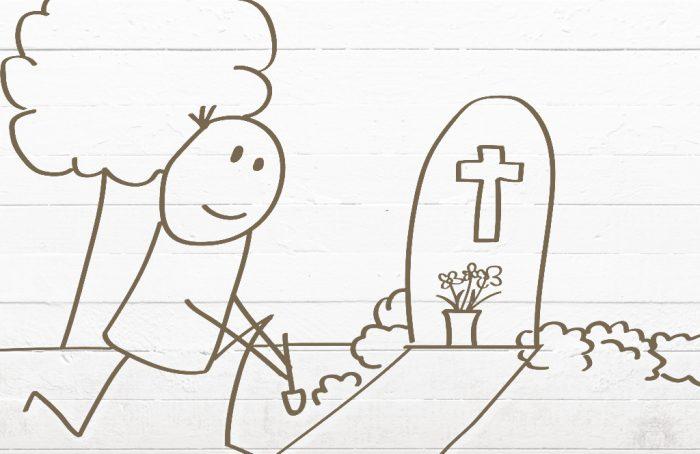 Grabpflege / Friedhofgärtner